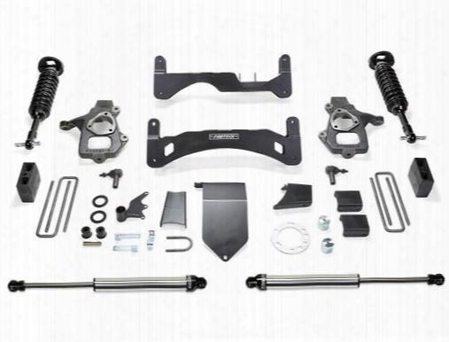 2014 Chevrolet Silverado 1500 Fabtech 6 Inch Performance Lift Kit Gen Ii W/front Dirt Logic Ss 2.5 Non Resi Coilovers & Rear Dirt Logic Ss