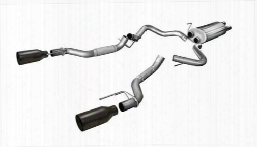 2017 Ford F-150 Corsa Performance Exhaust Corsa Performance Exhaust Cat-back Exhaust Kit - 14397b Pc