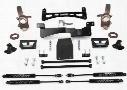 2001 FORD EXPEDITION Fabtech 6 Inch Performance Lift Kit w/Stealth Shocks & Rear Air Bags