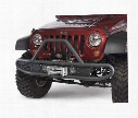 2010 JEEP WRANGLER (JK) Olympic 4x4 Products Cobra Front Bumper in Textured Black