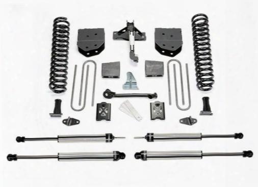 2005 Ford F-350 Super Duty Fabtech 6 Inch Basic Lift Kit W/dirt Logic Ss Shocks