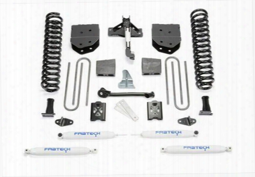 2005 Ford F-350 Super Duty Fabtech 6 Inch Basic Lift Kit W/performance Shocks