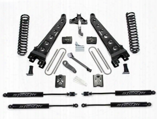 2005 Ford F-350 Super Duty Fabtech 6 Inch Radius Arm Lift Kit W/stealth Shocks