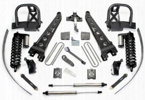 2007 Ford F-250 Super Duty Fabtech 8 Inch Radius Arm Lift Kit W/dirt Logic Ss 4.0 Coilovers & Rear Dirt Logic Ss Shocks