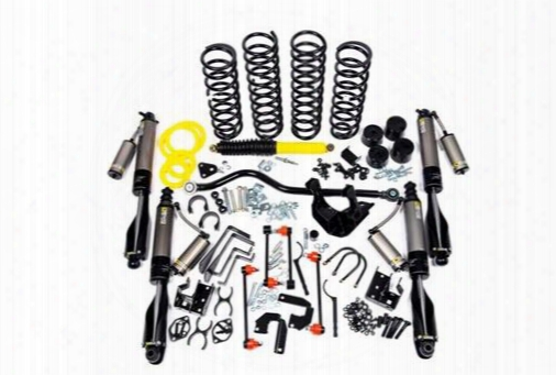 2010 Jeep Wrangler (jk) Arb 4x4 Accessories 4 Inch Lift Kit With Bp-51 Bypass Shocks