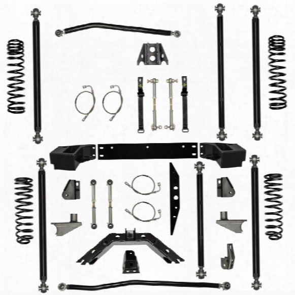 "2010 Jeep Wrangler (jk) Rock Krawler 3.5"" Off-road Pro Long Arm System With 6"" Rear Stretch"