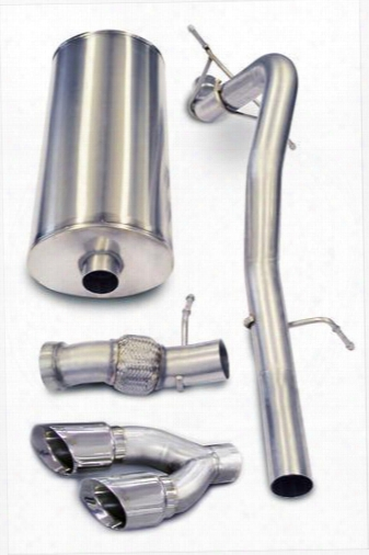 2011 Cadillac Escalade Corsa Performance Exhaust Sport Cat-back Exhaust System