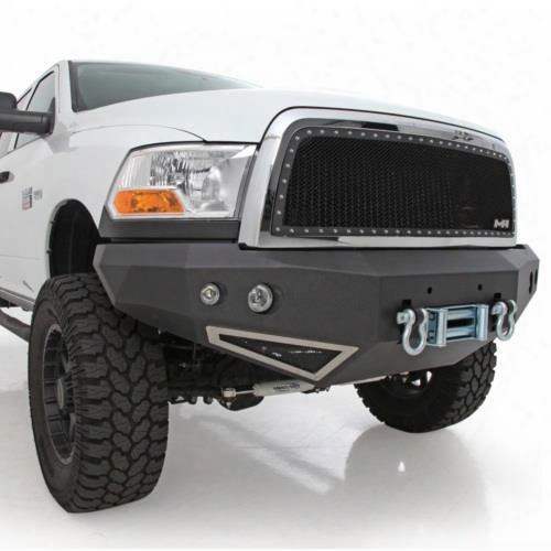 2011 Dodge 2500 Smittybilt M1 Ram Truck Winch Mount Front Bumper With D-ring Mounts And Light Kit