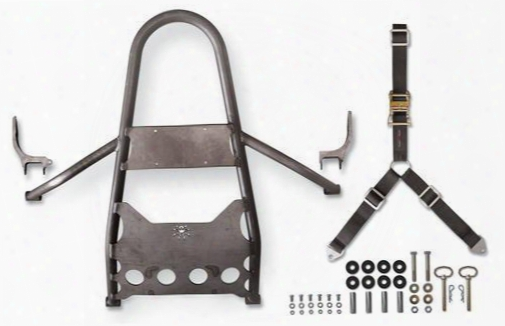 Poison Spyder Custom Diy Rear Stinger, Bare Steel, Jeep Rear Bumpers
