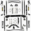 """2010 JEEP WRANGLER (JK) Rock Krawler 4.5"""" Stage-2 Coil Over Off-Road Pro Long Arm System with 6"""" Rear Stretch"""