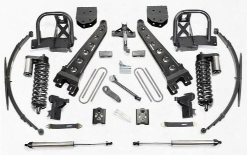 2005 Ford F-350 Super Duty Fabtech 10 Inch Radius Arm Lift Kit W/dirt Logic Ss 4.0 Coilovers & Rear Dirt Logic Ss Shocks