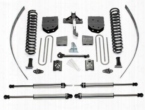 2007 Ford F-250 Super Duty Fabtech 8 Inch Basic Lift Kit W/dirt Logic Ss Shocks