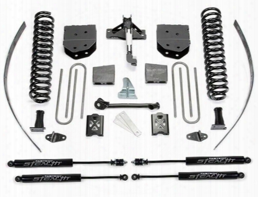 2007 Ford F-250 Super Duty Fabtech 8 Inch Basic Lift Kit W/stealth Shocks