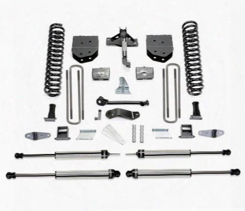 2008 Ford F-550 Super Duty Fabtech 6 Inch Basic Lift Kit W/dirt Logic Ss Shocks