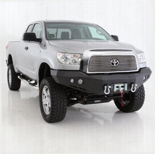 2009 Toyota Tundra Smittybilt M1 Toyota Tundra Winch Mount Front Bumper With D-ring Mounts And Light Kit