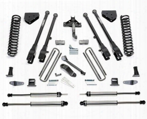 2010 Ford F-250 Super Duty Fabtech 10 Inch 4 Link Lift Kit W/dirt Logic Ss Shocks