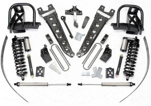 2010 Ford F-250 Super Duty Fabtech 8 Inch Radius Arm Lift Kit W/dirt Logic Ss 4.0 Coilovers & Rear Dirt Logic Ss Shocks