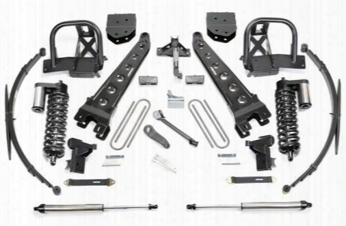 2010 Ford F-350 Super Duty Fabtech 10 Inch Radius Arm Lift Kit W/dirt Logic Ss 4.0 Coilovers & Rear Dirt Logic Ss Shocks
