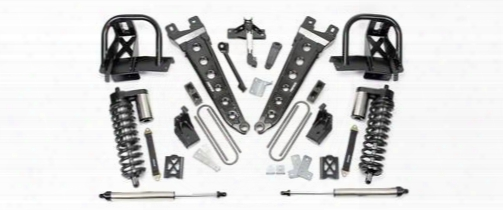 2010 Ford F-350 Super Duty Fabtech 6 Inch Radius Arm Lift Kit W/dirt Logic Ss 4.0 Coilovers & Rear Dirt Logic Ss Shocks
