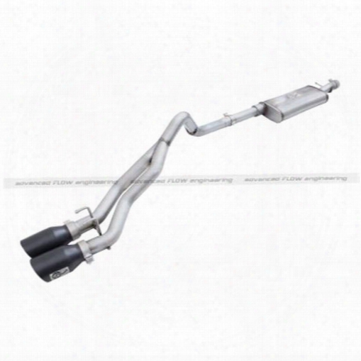 2010 Jeep Wrangler (jk) Afe Power Rebel Series Cat-back Exhaust System