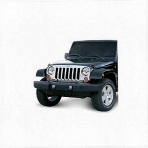 2010 Jeep Wrangler (jk) Omix-ada Grille Overlay
