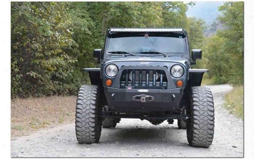 "2010 Jeep Wrangler (jk) Rock Slide Engineering Rock Slide Engineering 12"" Crawler Style Fender Flare Combo (black) - Ac-ff-201-f-jka"