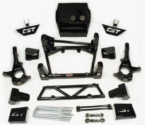 2011 Gmc Sierra 2500 Hd California Super Trucks 6 - 8 Inch Lift Kit W/shock