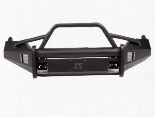 2013 Dodge 1500 Fab Fours Elite Pre-runner Replacement Bumper In Black Powder Coat