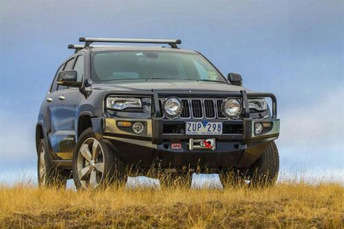 2014 Jeep Grand Cherokee (wk2) Arb 4x4 Accessories Deluxe Winch Bar