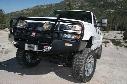 2003 GMC SIERRA 1500 ARB 4x4 Accessories Black GMC HD Deluxe Bull Bar Winch Mount Bumper