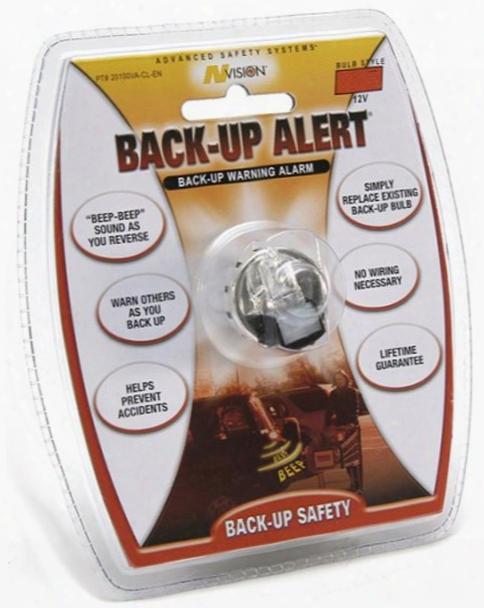 1156 Style Halogen Bulb & Back-up Alert Beeper