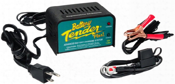 12 Volt Battery Tender Plus Battery Charger 1.25 Amps
