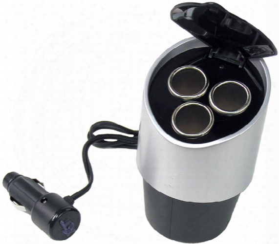 12 Volt Tri-power Cupholder Outlet