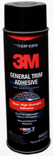 3m Aerosol General Trim Adhesive Clear 18.1 Oz.