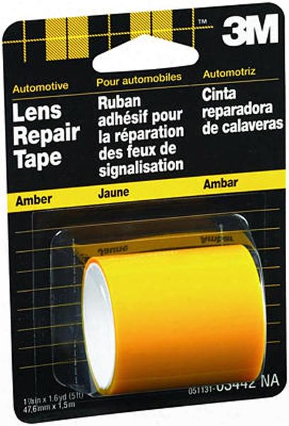 3m Amber Lens Repair Tape