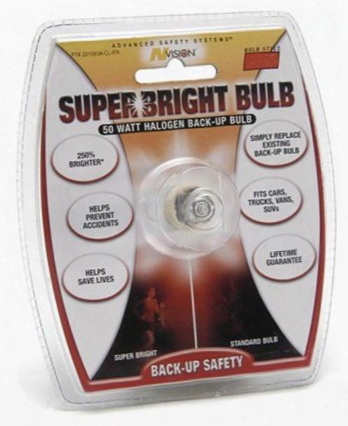 50 Watt 3156 Style Halogen Super Bright Back-up Bulb