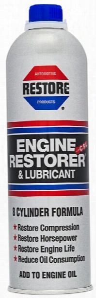 8 Cylinder Engine Restorer & Lubricant 19 Oz.