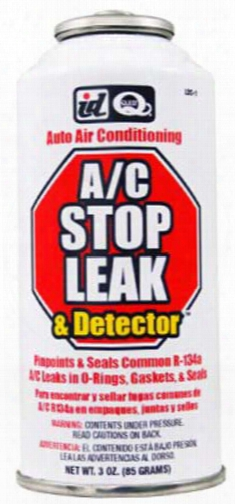 A/c R-134a Leak Sealer & Detector 3 Oz.