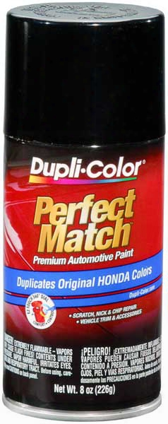 Acura/honda Vehicles Metallic Black Auto Spray Paint -nh503p/nh526m 1988-1996