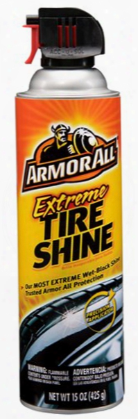 Armor All Extreme Tire Shine Aerosol 15 Oz.
