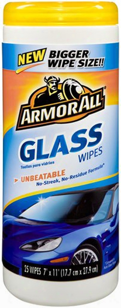Armor All Glass Wipes 25 Ct.