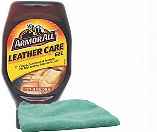 Armor Altogether Leather Care Gel 18 Oz. & Microfiber Cloth Kit