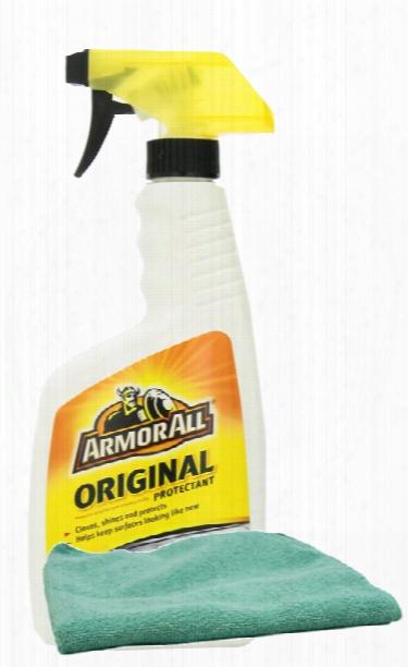 Armor All Original Shine Protectant 16 Oz. & Microfiber Cloth Kit