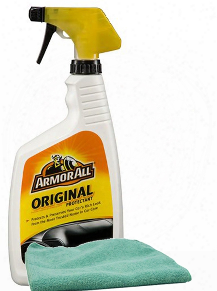 Armor All Original Shine Protectant 32 Oz. Microfiber Cloth Kit