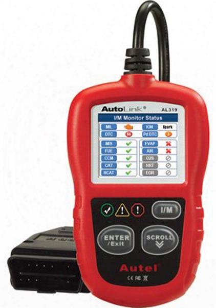 Autel Autolink Al319 Obd Code Reader
