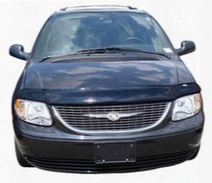 Auto Ventshade 24607 Chrysler Town & Country And Dodge Caravan Bugflector Ii Stone & Bug Deflector 2001-2007