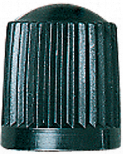 Black Plastic Valve Cap Box Of 100