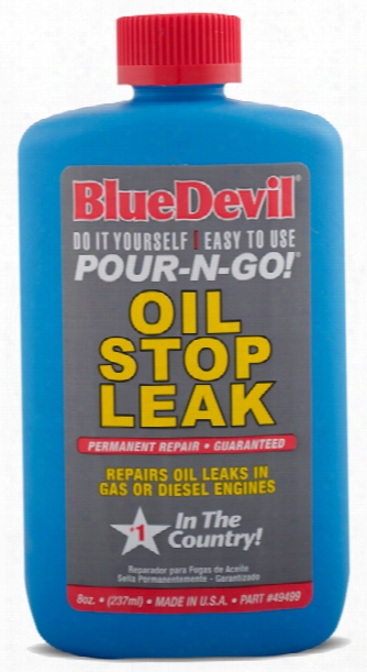 Blue Devil Oil Stop Leak & Conditioner 8 Oz