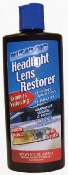 Blue Magic Headlamp Lens Restorer 8 Oz.