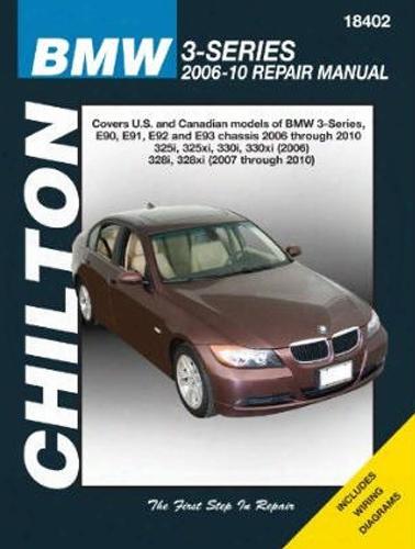 Bmw 3-series Chilton Repair Manual 2006-2010